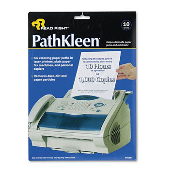 Read-Right REARR1237 Path Kleen Wipes, 10 Per Pack