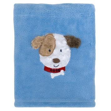 Rashti & Rashti Puppy Coral Plush Blanket