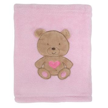Rashti & Rashti Baby Blanket, Pink Bear