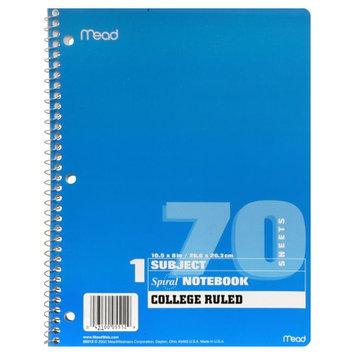 Atico Ltd. Spiral Notebook, 1 Subject, 1 notebook