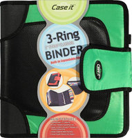Case It 3-Ring Binder with 2