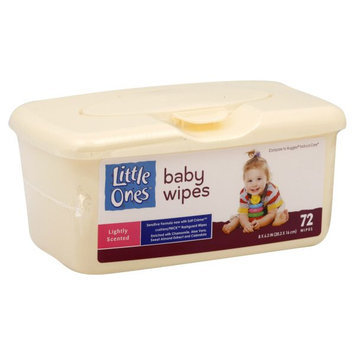 Kmart Corporation Little Ones Baby Wipes, Lightly Scented, 72 wipes