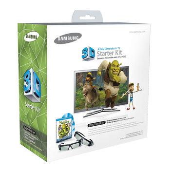 Samsung SSG-P2100S/ZA Shrek 3D Starter Kit, Black