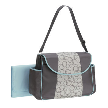 Stevens Baby Boom Ltd. Baby Boom Bay Breeze Collection Flap Messenger Diaper Bag