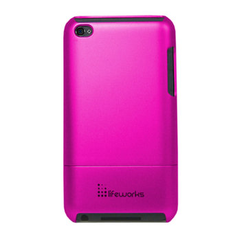 Lifeworks Technology Group Lifeworks Shield Case for iPod Touch 2G - Pink