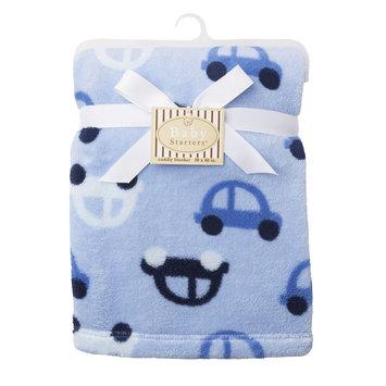 Harry V Rashti & Co. Inc. Baby Starters Plush Blanket with Car Motif