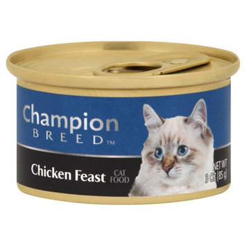 Champion Breed CHICKEN FEAST 3OZ CAN CAT FOOD - KMART CORPORATION