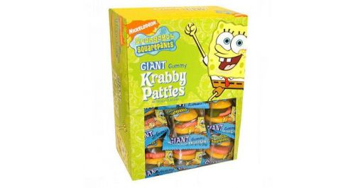 SpongeBob SquarePants Giant Gummy Krabby Patties, 60 ct. - FRANKFORD CANDY & CHOCOLATE