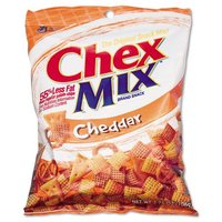 Chex Mix Cheddar Flavor Trail Mix, 3.75oz Bag, Seven/Box - GENERAL MILLS, INC.