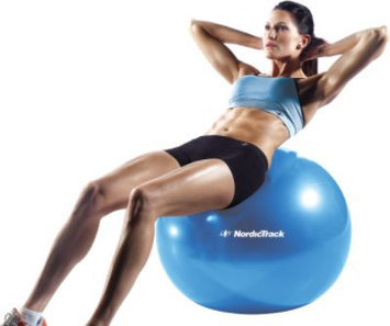 NordicTrack 65cm Exercise Ball (Blue) - WEIDER HEALTH AND FITNESS