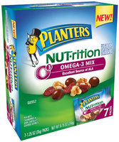 Planters NUT-rition, Snack Packs, Omega-3 Mix