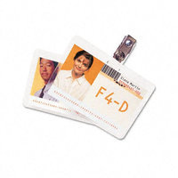 GBC HeatSeal. ID Badge Prepunched Laminating Pouches