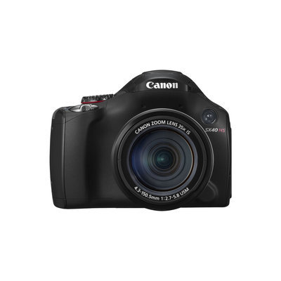 Canon PowerShot SX40 HS Digital Camera (Black)