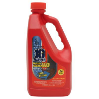 Enforcer Products Pet 64 Oz 10 Minute Hair Clog Remover EHCR64 Pack of 8