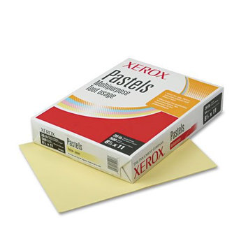 Xerox - Multipurpose Pastel Colored Paper, Letter, Yellow - 500 Sheets/Ream