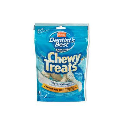 Hartz Dentist's Best Chewy Treats: Small - 6 Pack