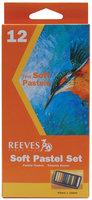Reeves Soft Pastel Set, 12/Pkg, Assorted Colors