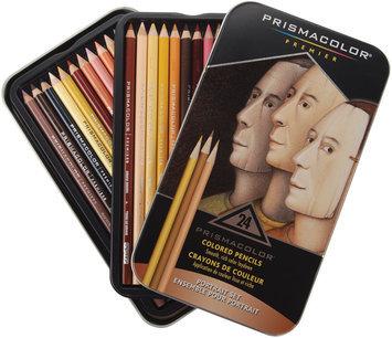Sanford Prismacolor Premier Colored Pencil Portrait Set, 24/Tin