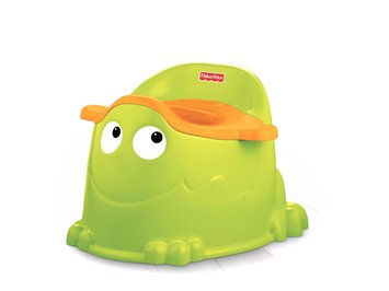 Fisher Price Fisher-Price Training Toddler Potty Froggy - MATTEL, INC.