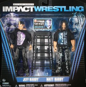 TNA Twist of Hate - Jeff Hardy & Matt Hardy Exclusive 2-Pack Toy Wrestling Action Figures