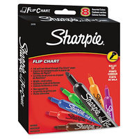 Kmart.com Sharpie Flip Chart Markers, Bullet Tip, Eight Colors