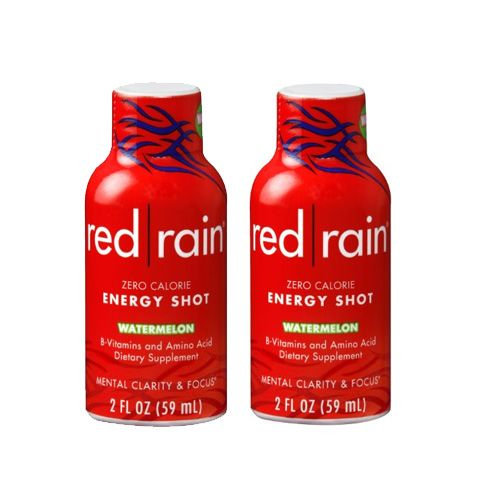 Cott Beverages Inc. Red Rain Energy Shot, Watermelon, 2 pack