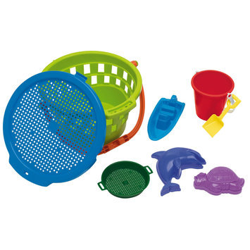 American Plastic Toys 8 Pc. Jumbo Value Bucket