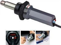 STEINEL & #174 Industrial Heat Gun HG4000E Electronically monitored Heat Gun with LED Temperature Display