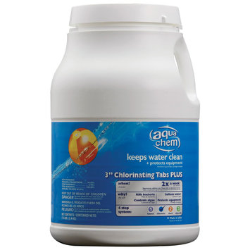Aqua Chem 7.5-lb Bucket 3-in Pool Chlorine Tabs 05472AQU