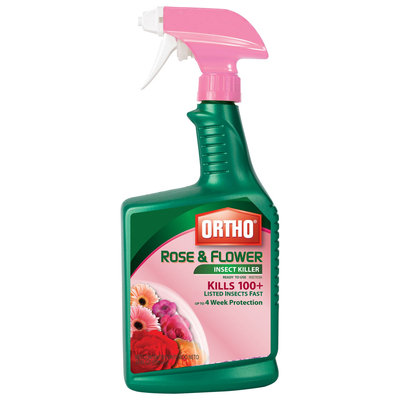 ORTHO 24 oz Rose and Flower Ready to Use Insect Killer 0345020