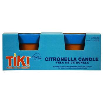 LAMPLIGHT FARMS Twin Pack Citronella Terra Cotta Tiki Candles