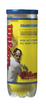 Wilson Championship High Altitude Tennis Balls - WILSON SPORTING GOODS COMPANY