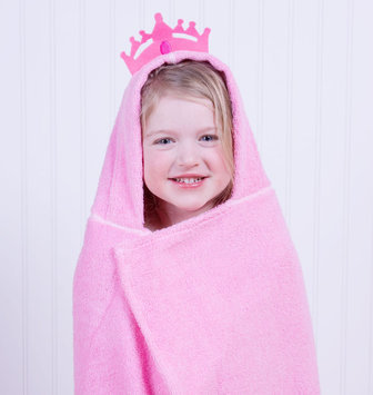 Trend Lab Llc Trend Lab Princess 2 Piece Hooded Towel Set