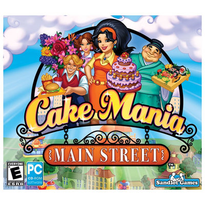 Encore Cake Mania: Main Street - Strategy Game - PC