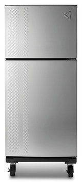 Gladiator 19.0 cu. ft. Chillerator Garage Refrigerator - Stainless Steel