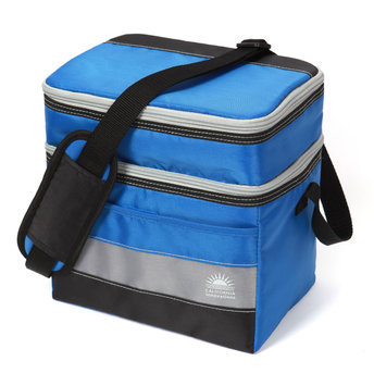 California Innovations Dual Compartment HardBody Lunch Pack - Blue
