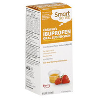 Kmart Corporation Children's Ibuprofen Oral Suspension Berry Flavor Dye-Free, 4 fl oz
