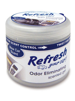 Refresh Your Car 4.5 oz Scented Gel -New Car Scent