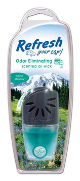 Refresh Your Car Scented Oil Wick -Alpine Meadow