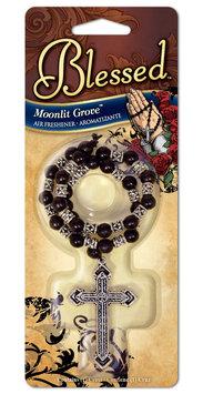 Blessed Rosary Air Freshener - Moonlit Grove