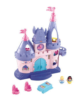 Fisher Price Kids Toy, Little People Disney Princess Songs Palace