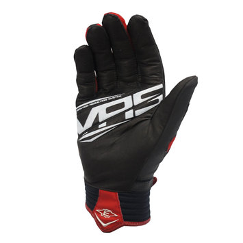 Easton React Batting Glove Adult XL Black/Red - CYCLE PRODUCTS CO.