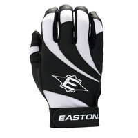 Cycle Products Co. Easton Reflex Batting Glove - Adult Medium - Black/White