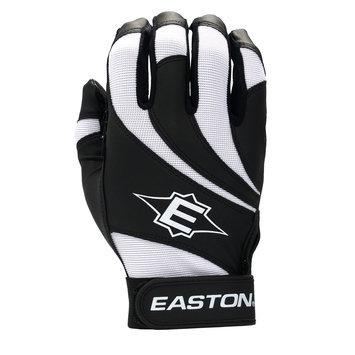 Cycle Products Co. Easton Reflex Batting Glove - Adult Medium - Black/White