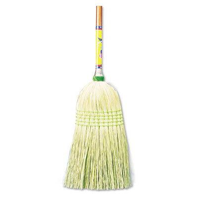 UNISAN Parlor Broom, Corn Fiber Bristles, 42