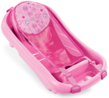 The First Years Girl's Toddler Tub with Sling Pink
