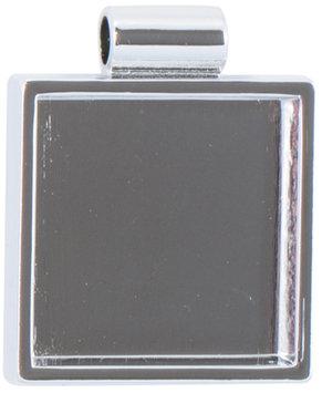JHB LP2714-6 Lisa Pavelka Silver Plated Bezel 1-Pkg-Square