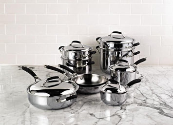 Kenmore 14Pc Stainless Steel Cookware Set - Kenmore