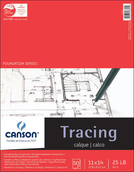 Canson Tracing Paper Pad 11