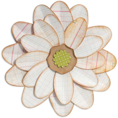 Sizzix Bigz BIGkick/Big Shot Die-Petal Power Flower